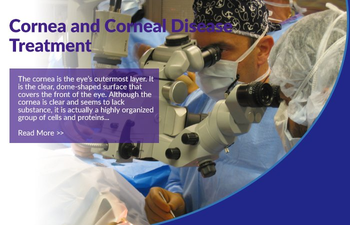 Cornea and Corneal Disease Treatment